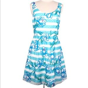 Lilly Pulitzer Posey Dress in Tossing the Line 10